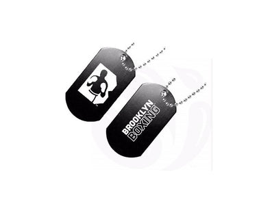 Brooklyn Boxing Dog Tags Double