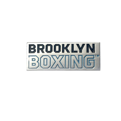 Brooklyn Boxing Wordmark Pin