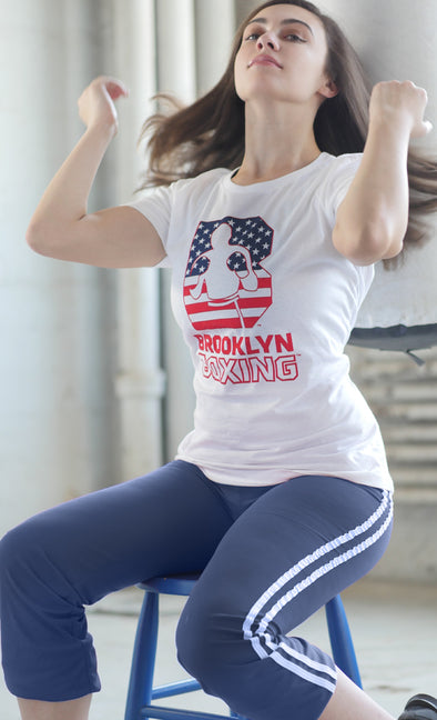 Women's USA B Logo Tee