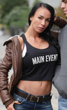 Women's Main Event Crop Tank Top