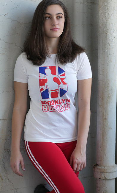 Women's UK B Logo Tee