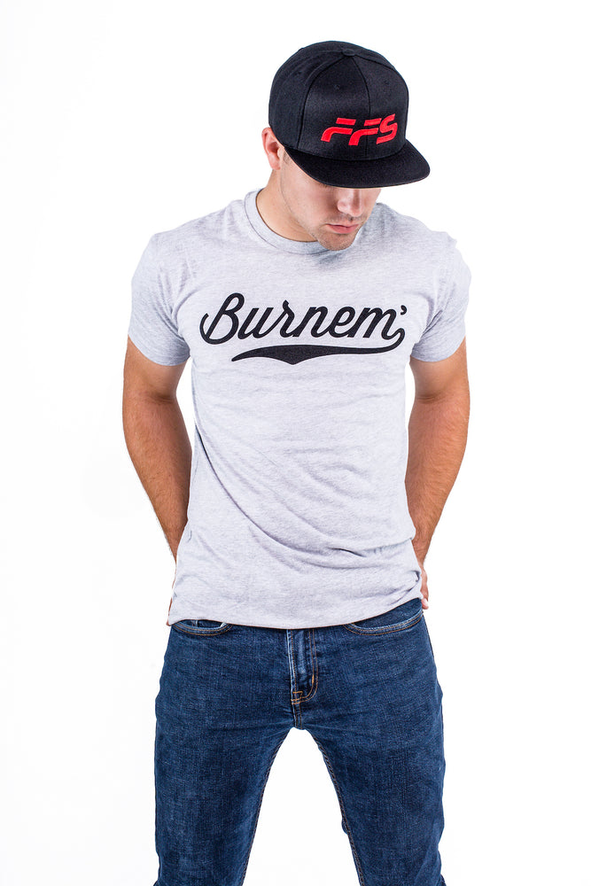 Burnem Tee Grey