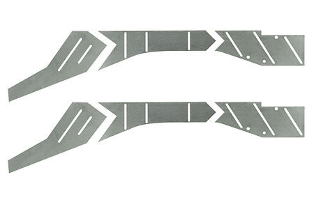 XJ Front Frame Reinforcement Plate Kit