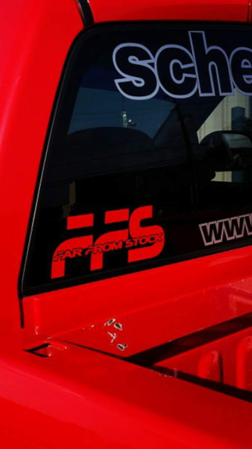 "10"" FFS Window Decal"
