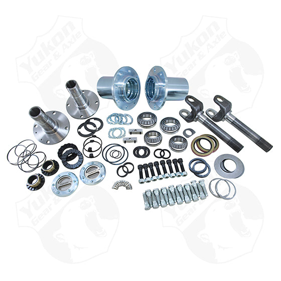 Locking Hub Conversion Kit for '00-'08 Dodge D60 & 9.25 front Spin Free (srw)