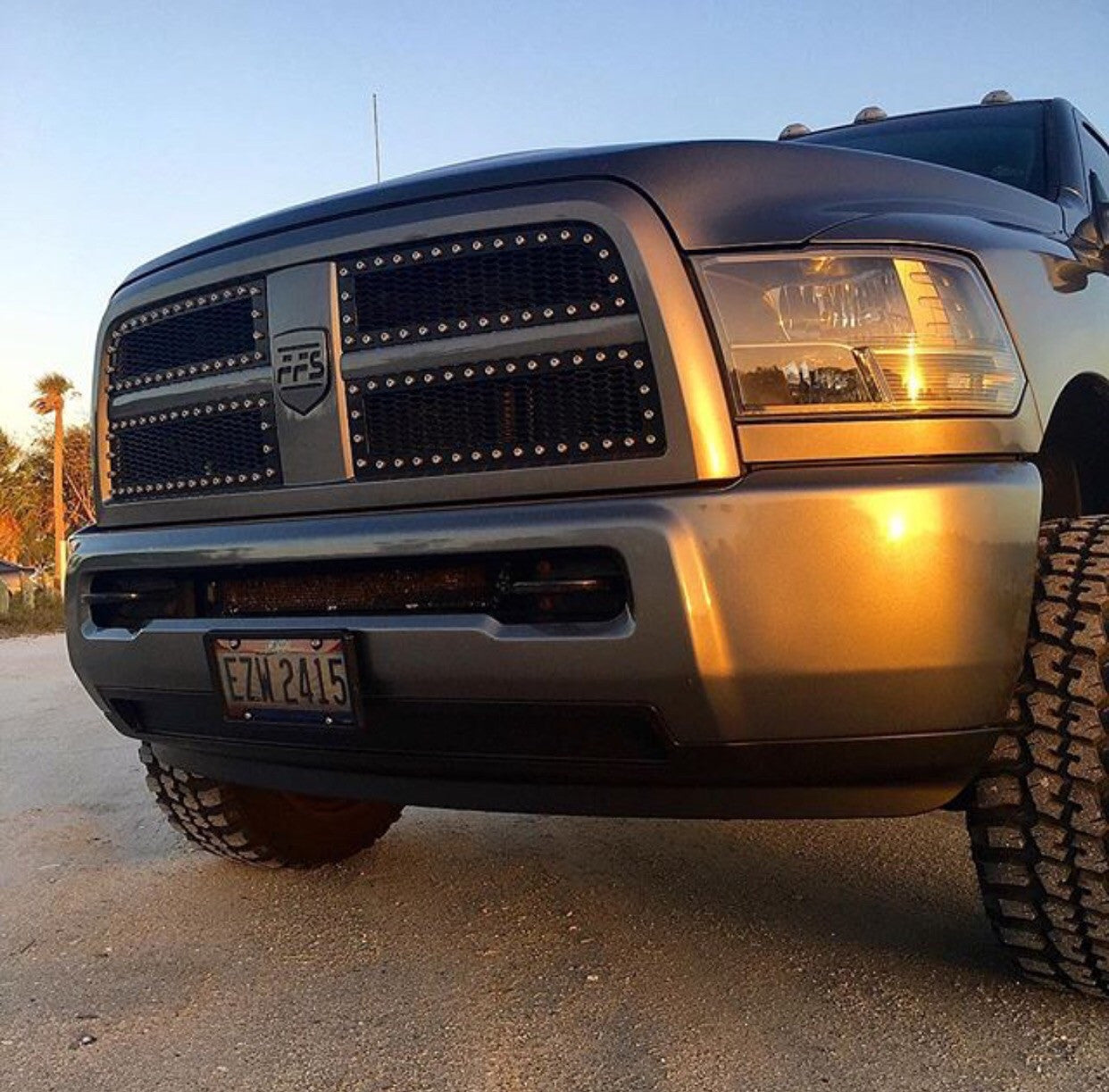 4th Gen Ram Early FFS Grille Inserts