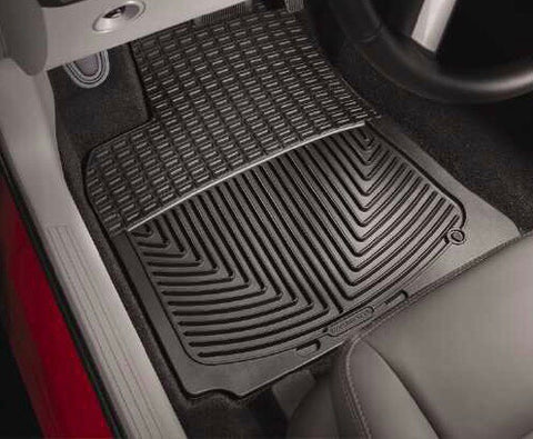 99-08 SUPER DUTY CREW/SUPER CAB/SUPER CREW 00-05 EXCURSION RUBBER FRONT FLOOR MATS BLACK