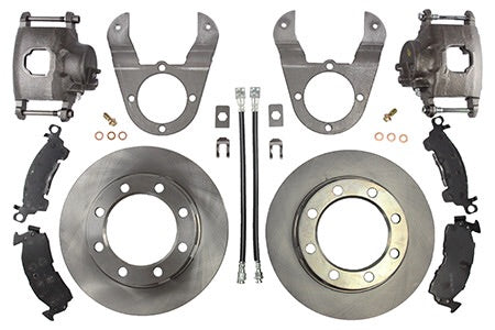 Dana 70 (1st Gen) Dodge Disc Brake Conversion Kit (SRW)