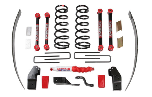 2000-02 Dodge Ram 2500 4-4.5 in. Suspension Lift Kit with Hydro Shocks