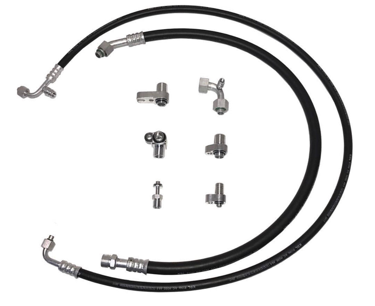 2010-2018 6.7L Cummins A/C Line Relocation Kit — Far From