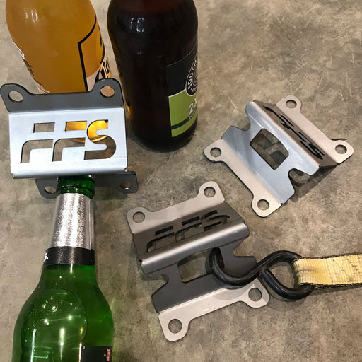 FFS bottle opener / tie down