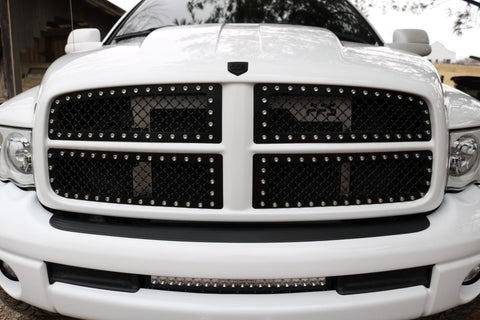 Early 3rd Gen Dodge FFS Grille Inserts 03-05