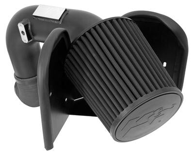 K&N 71-1532 BLACKHAWK STG. 2 COOL AIR INTAKE FOR 03-07 DODGE 5.9L CUMMINS - DRYFLOW FILTER