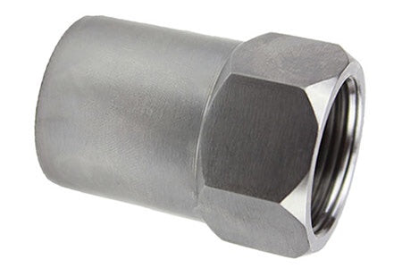 "1.25"" Hex Head Tube Adapter Right Hand 1.5(ID) 12(TPI)"