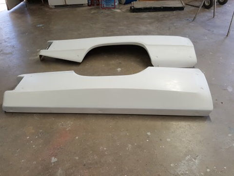 Walker Evans style 80's dodge bedsides, 4 inch flair, dzus-on, 84 inches long