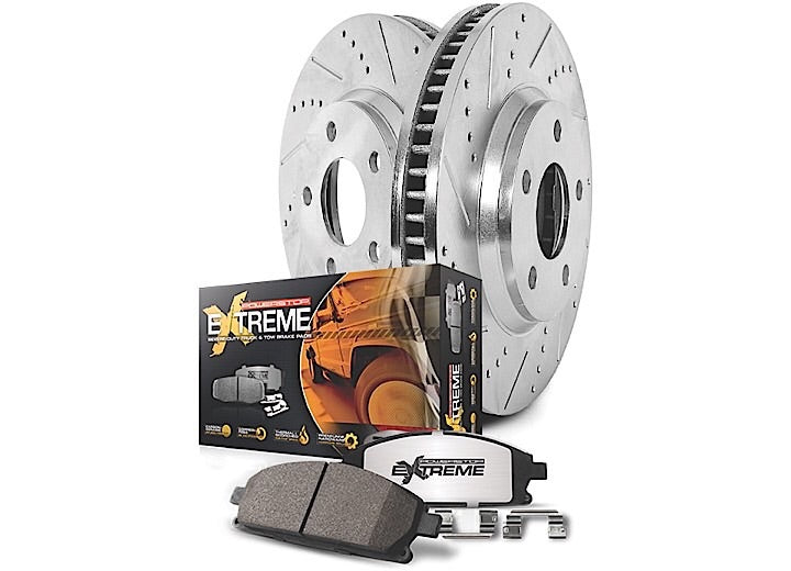 2003-2008 Dodge 2500/3500 FRONT & REAR TRUCK AND TOW BRAKE KIT