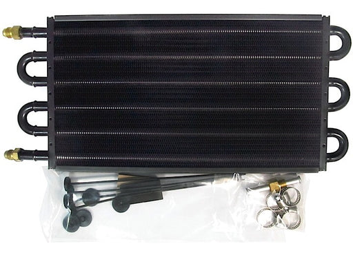 TRANSMISSION OIL COOLER, RACE COOLER 6AN FITTINGS,18000GVW, 7 1/2IN X 15IN X 3/4IN