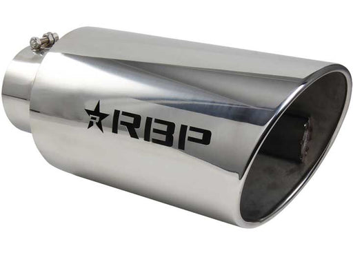 "POLISHED STAINLESS STEEL EXHAUST TIP 4"" To 8"""