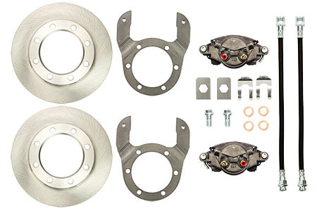 Chevy/ Dodge Front Dana 60 Kingpin Axle Disc Brake Kit