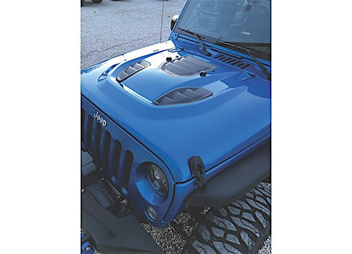 07-C WRANGLER JK TRAILCAT HOOD, STEEL, READY TO PAINT