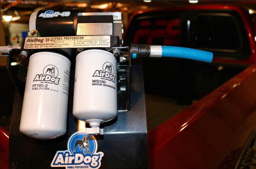 AirDog II-4G 2nd GEN P-Pump 1994-1998 Dodge Cummins 5.9L (Preset at 25-30psi)