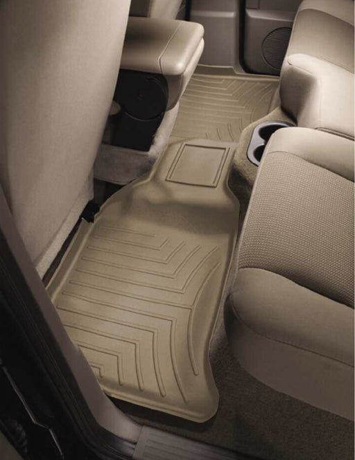 WeatherTech 09-17 RAM 1500 10-14 RAM 2500/3500 CREW CAB REAR FLOORLINER TAN