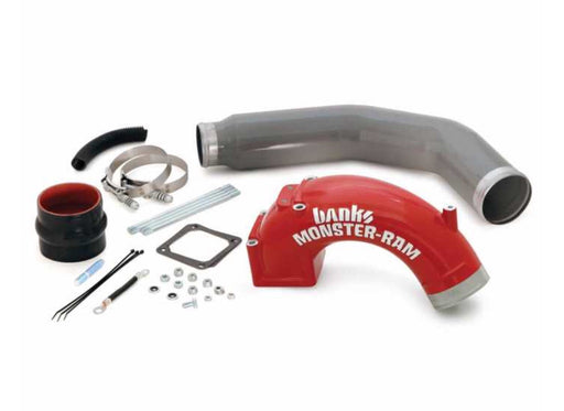 Monster-Ram Intake Elbow with Boost Tube for use with 2003-2007 Dodge 5.9L