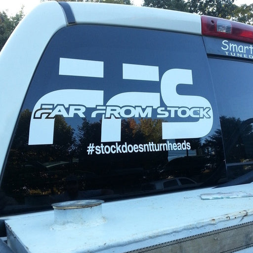 #stockdoesntturnheads Decal