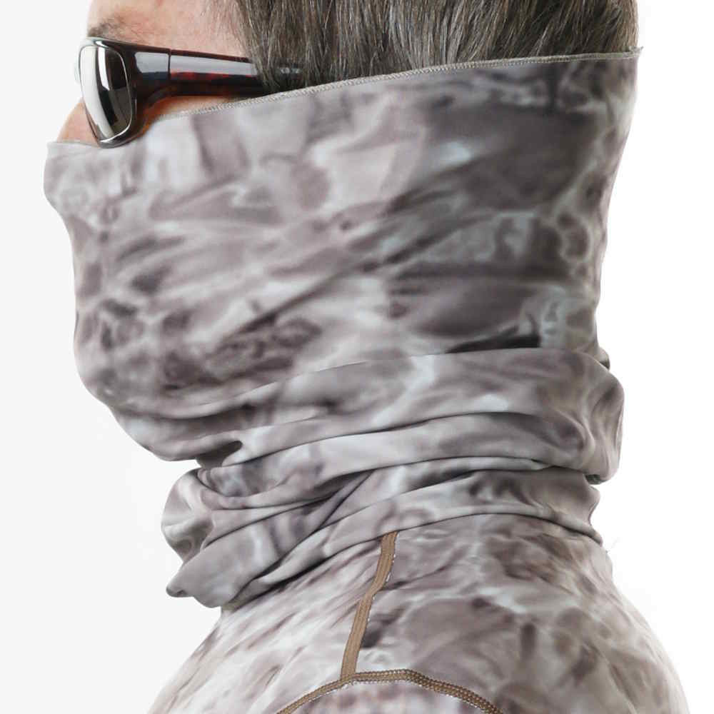 Fishing Face Mask In Camo