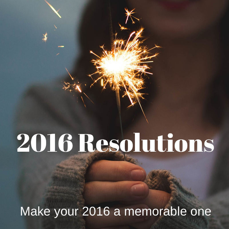 Start 2016 Resolutions Off On A Good Note