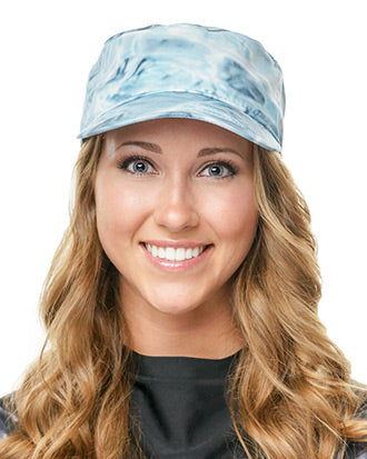 Aqua Design Women's Military Painters Cap