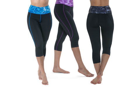 Women's Workout High Waisted Leggings by Aqua Design