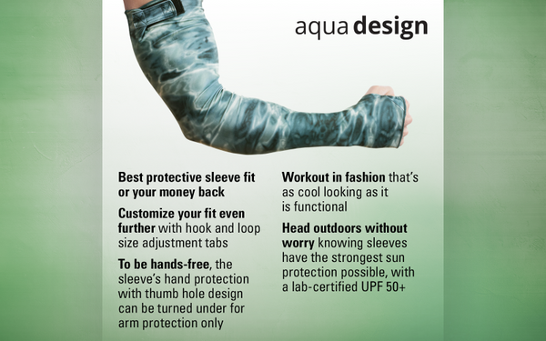 Sun Sleeves In Three Sizes by Aqua Design