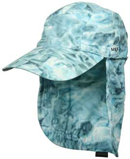 Voyager Cap With Cape | Aqua Design