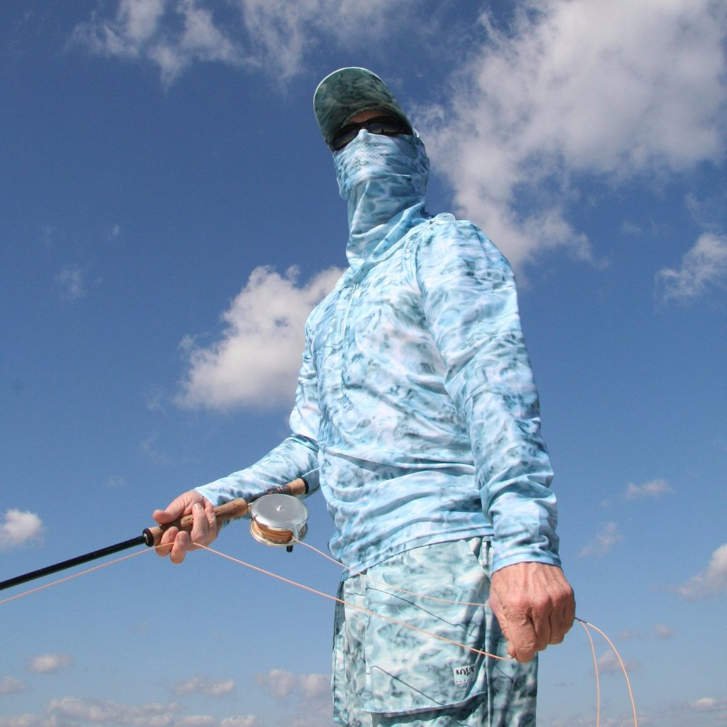 Searching for fish wearing skyward camouflage by Aqua Design