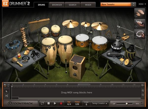 Toontrack EZX - Latin Percussion EDUCATION