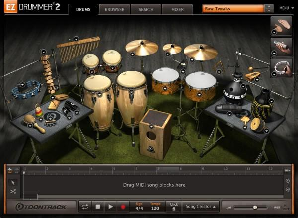 Buy Toontrack EZX - Latin Percussion