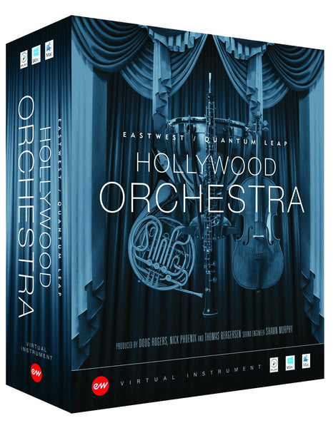 Install EastWest Hollywood Orchestra + Solo Instruments