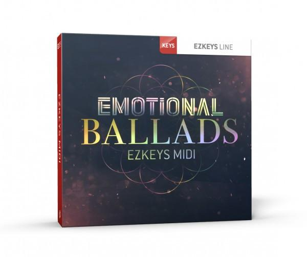 Download Toontrack EZkeys Emotional Ballads MIDI Pack