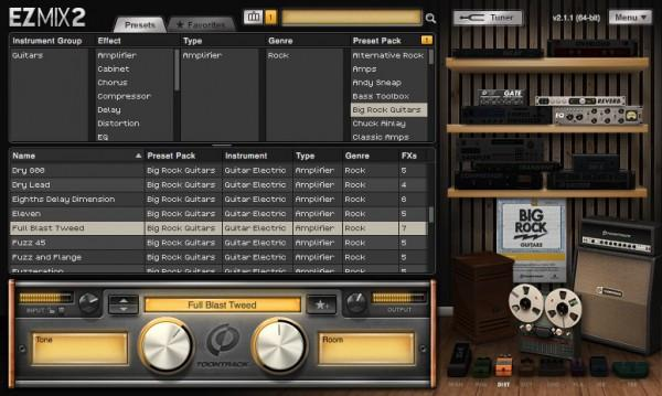 Buy Toontrack Big Rock Guitars EZmix Pack