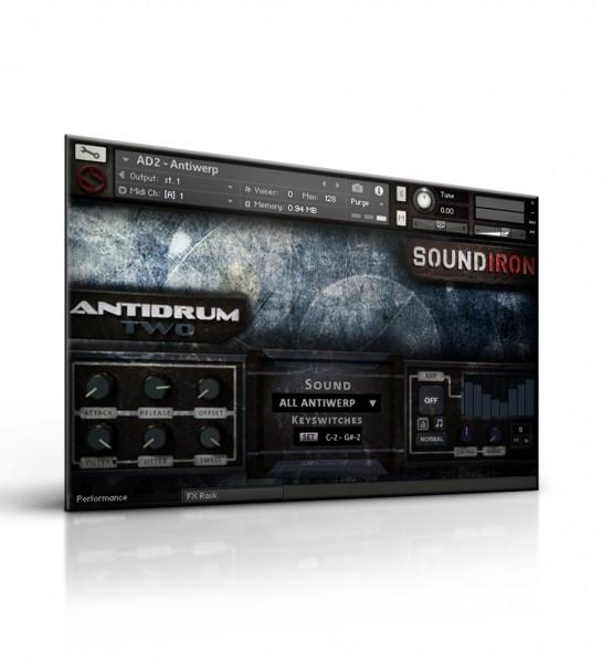 Review Soundiron Antidrum II