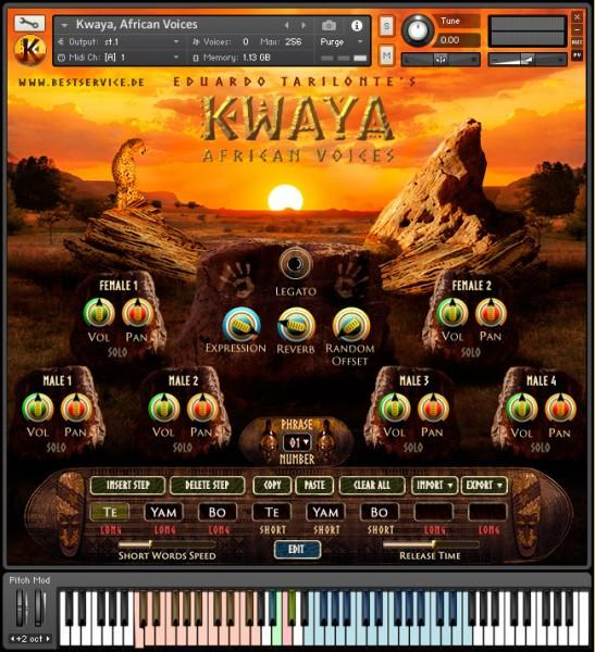 Download Best Service KWAYA African Voices by Eduardo Tarilonte