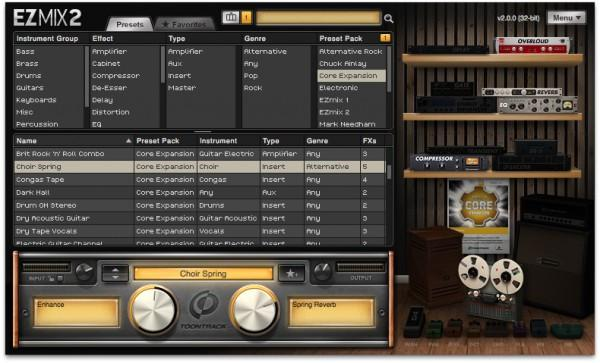 Buy Toontrack EZmix 2 Core Expansion Presets