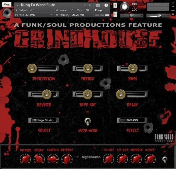 Download  Big Fish Audio Grindhouse: Sound of 70s Genre Cinema
