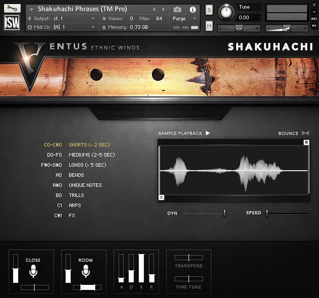 Install Impact Soundworks Ventus Ethnic Winds - Shakuhachi