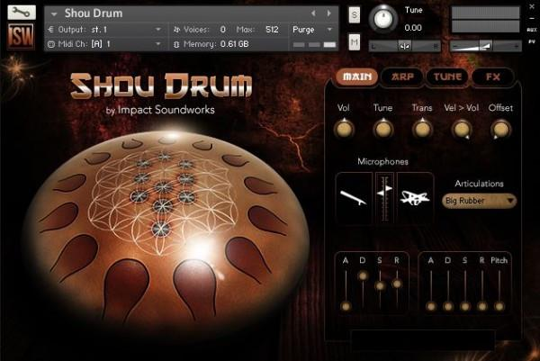 Buy Impact Soundworks Shou Drum