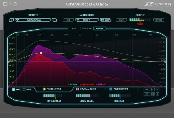 Effects-plugin Zynaptiq Unmix Drums