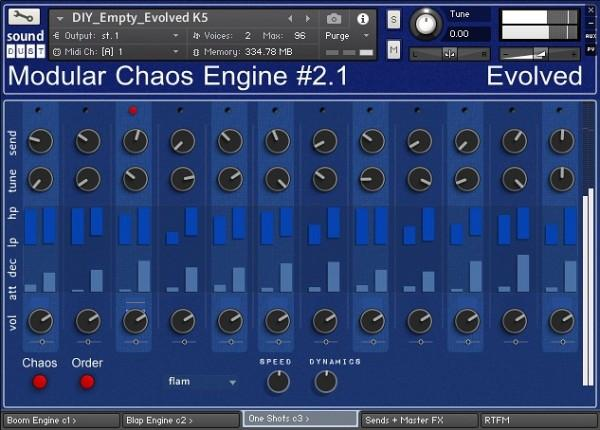 Buy Sound Dust Modular Chaos Engine 2 Evolved