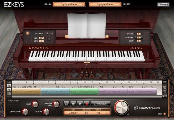 Buy Toontrack EZkeys Upright Piano