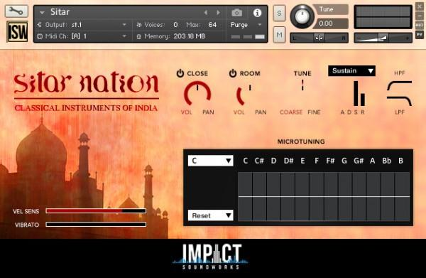 Install Impact Soundworks Sitar Nation